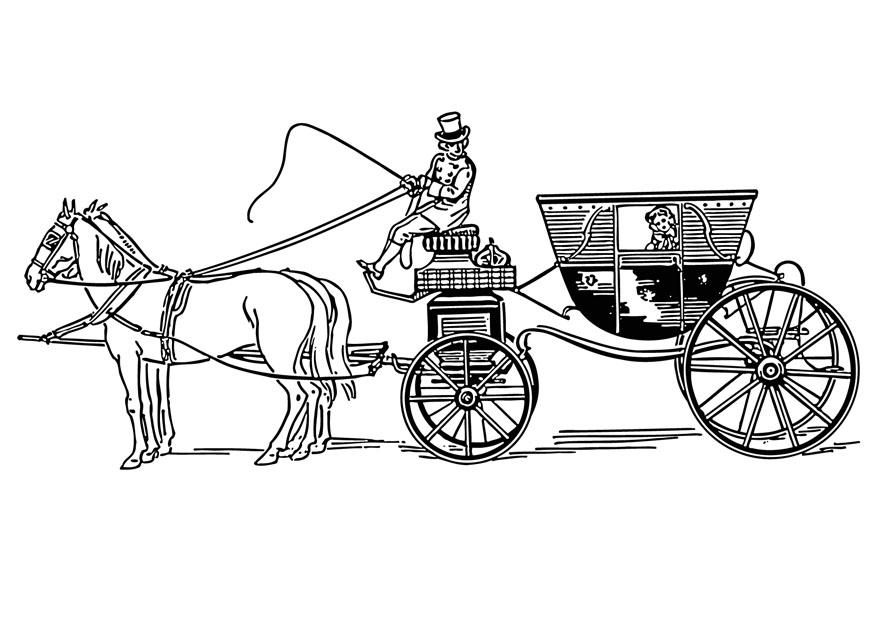 Coloriage le carrosse img 12900 - Coloriage carrosse ...