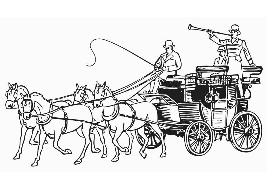 Coloriage le carrosse img 18782 - Coloriage carrosse ...