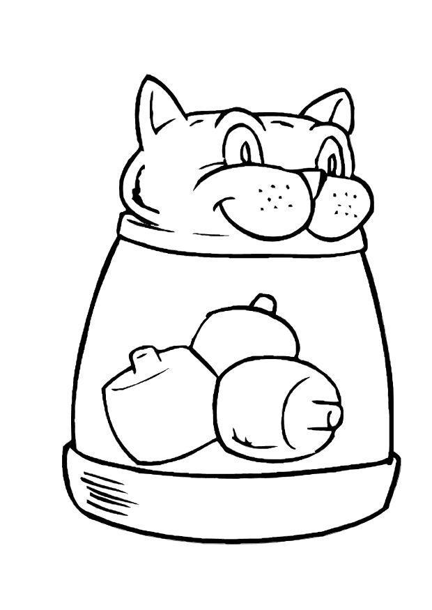 Coloriage le chat - Coloriages Gratuits à Imprimer