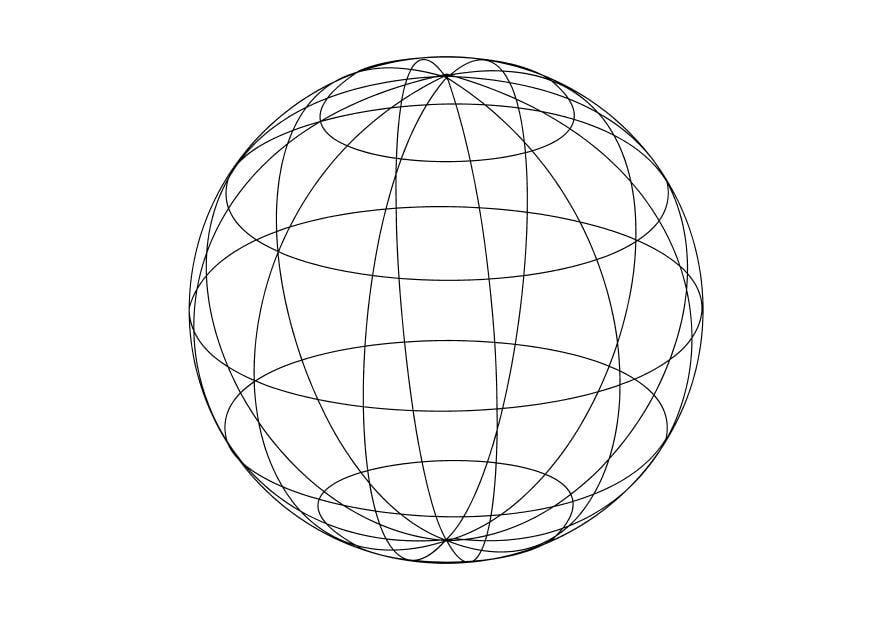 coloriage le globe img 14334