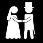 Coloriage le mariage