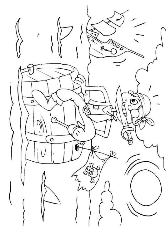 Coloriage Bateau Coule.Coloriage Le Navire Coule Img 25980