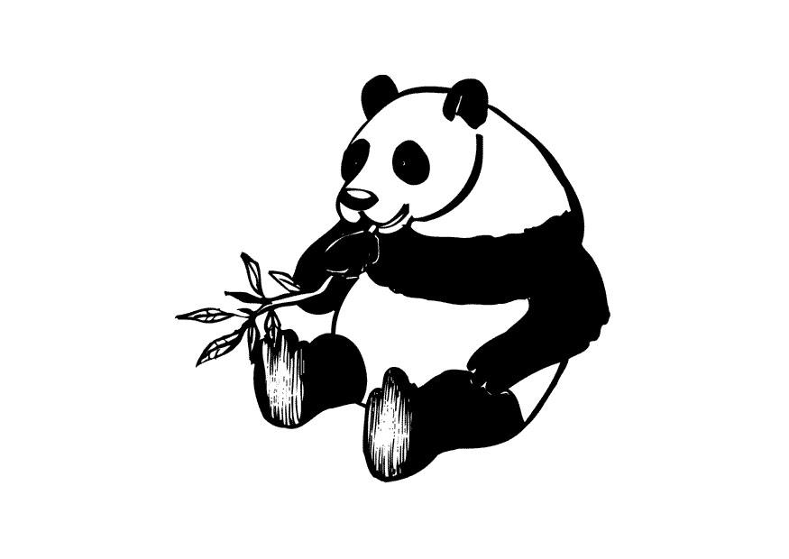 Coloriage le panda img 10434 - Coloriage de panda kawaii ...