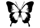 Coloriage le papillon