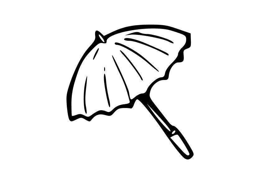 Coloriage le parapluie img 10323 - Parapluie dessin ...