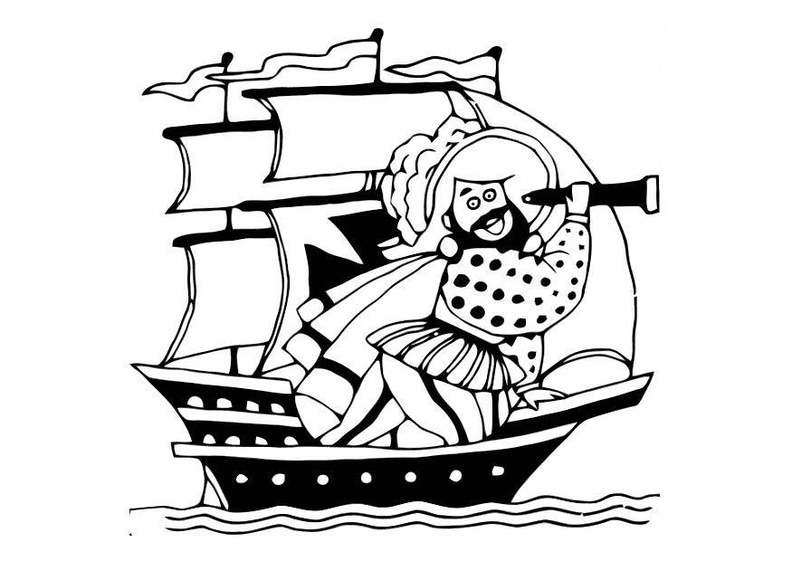 Coloriage Le Pirate Img 10812 Images