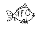 Coloriages le poisson