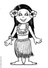 Coloriages Leilani