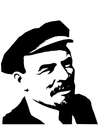Coloriage Lenin