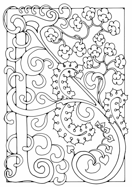 Coloriage lettre - A - Coloriages Gratuits à Imprimer