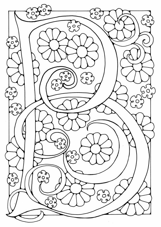 Coloriage Lettre B Img 21887 Images