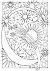 Coloriage lettre - C