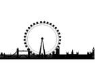 Coloriage ligne d'horizon London