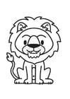 Coloriage Lion