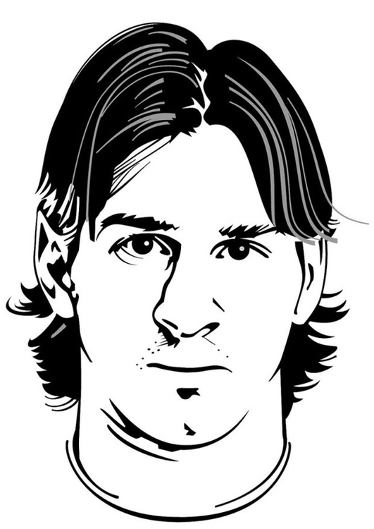 Coloriage Lionel Messi Img 24743 Images