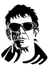 Coloriage Lou Reed
