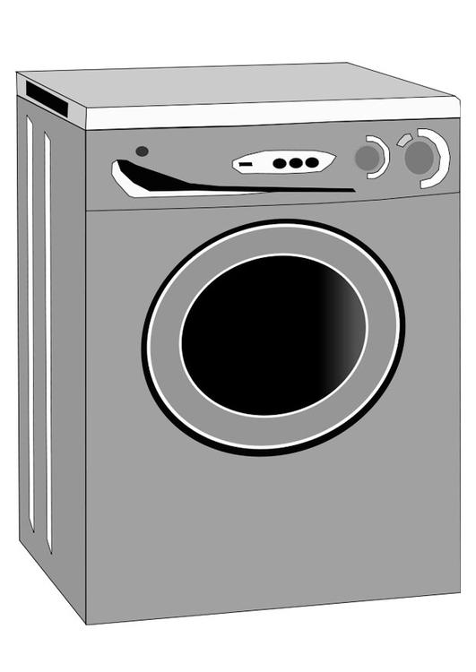 Coloriage machine laver img 22463 - Laver un oreiller en plume ...