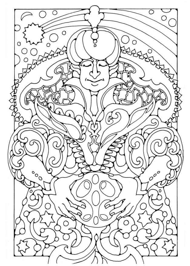 Coloriage Magicien Img 16422 Images