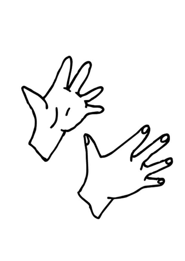 Coloriage mains img 9523 - Dessin main enfant ...