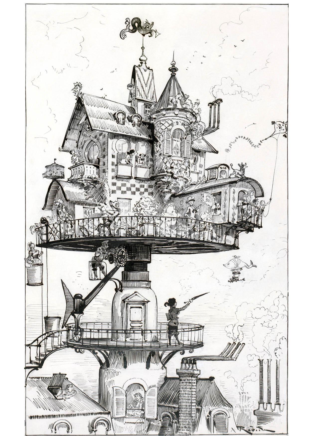 Coloriage maison du futur 1883 img 14777 - La maison du futur bruxelles ...