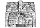 Coloriage maison