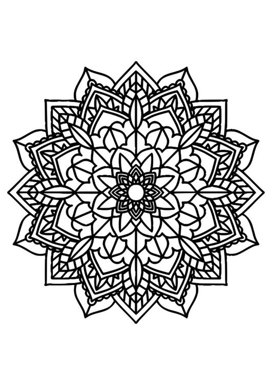 Coloriage Mandala Img 30385 Images
