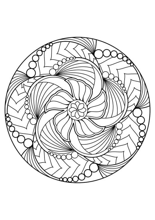 Coloriage Mandala Coloriages Gratuits A Imprimer Dessin 30833