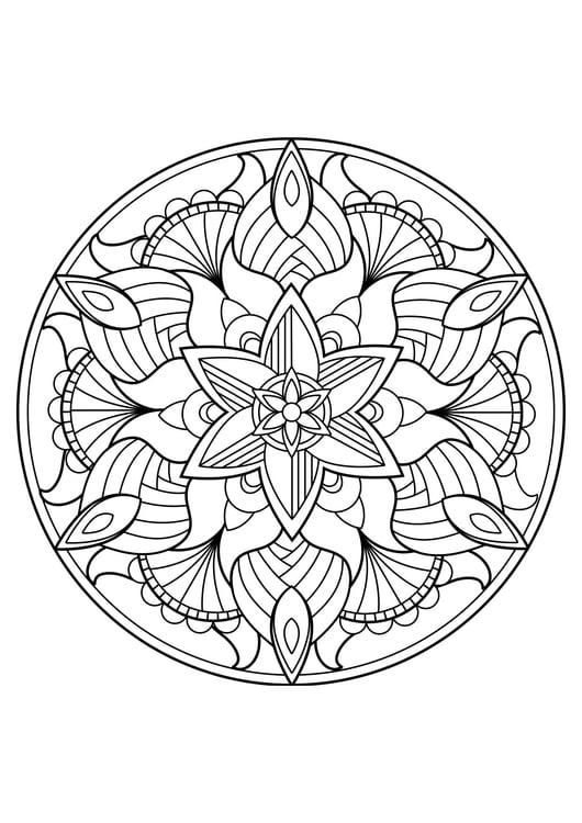 Coloriage Mandala Coloriages Gratuits A Imprimer Dessin 30834