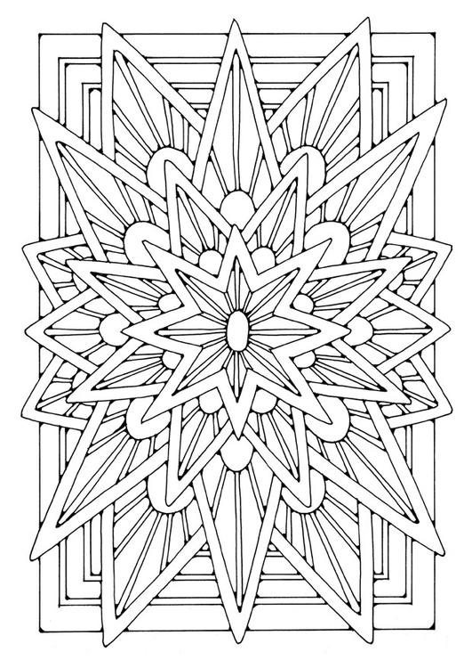 Coloriage Mandala Etoile Coloriages Gratuits A Imprimer