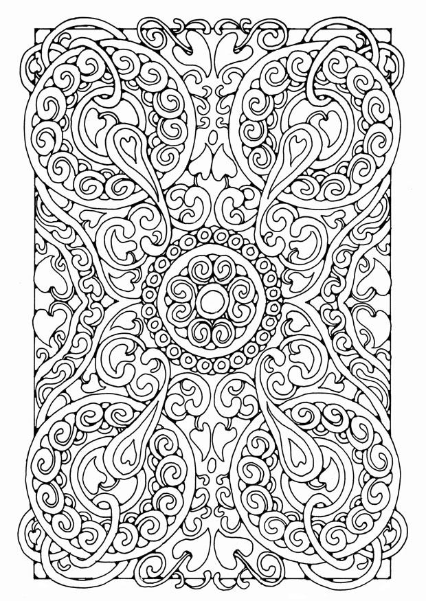 Free Adult Coloring Pages Pdf