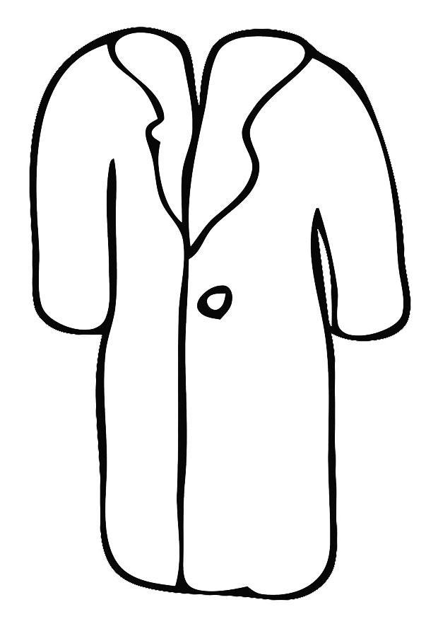 Coloriage manteau img 19355 - Manteau dessin ...