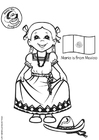 Coloriages Maria