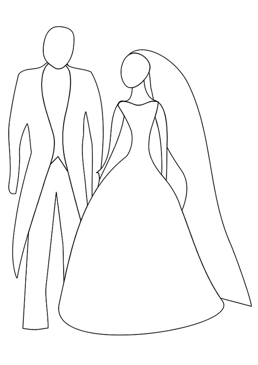 Coloriage mariage img 20817 images - Coloriage mariage ...