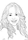 Coloriage Mariah Carey