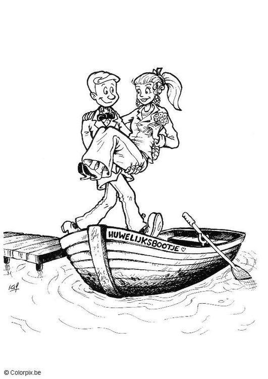 Coloriage mari s img 20818 images - Coloriage maries ...