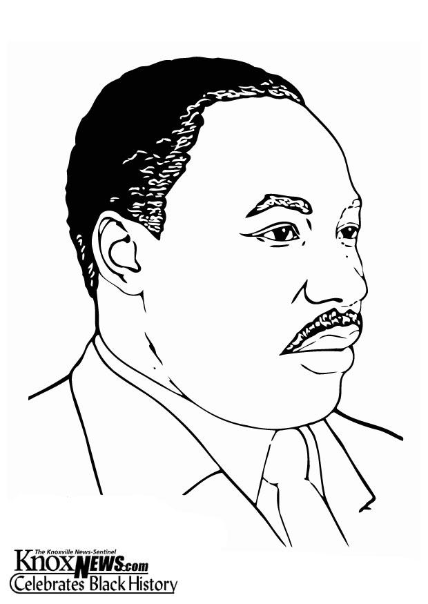 Coloriage martin luther king jr img 20889 - Coloriage martin ...