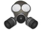 Coloriage masque à gaz