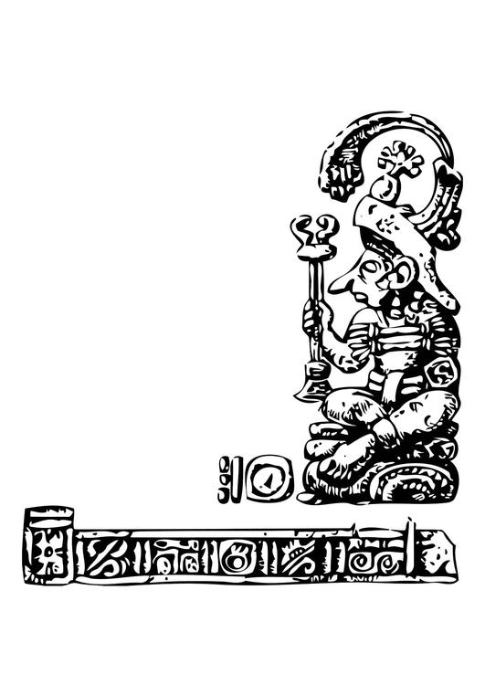 Coloriage Maya Img 11345 Images