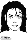 Coloriages Michael Jackson