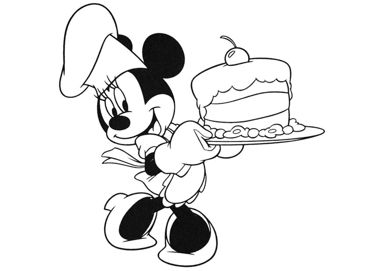 Coloriage Minnie Mouse Img 20740 Images