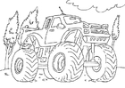 Coloriages monster truck