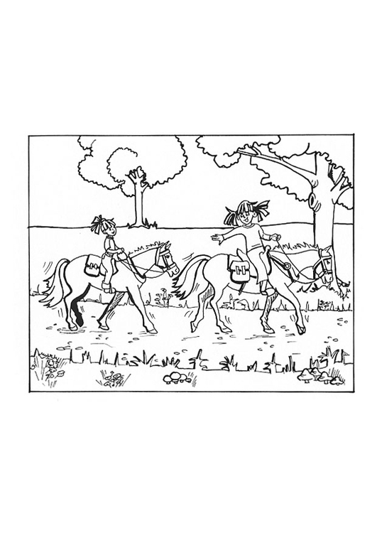 Coloriage Monter 224 Cheval Img 9652