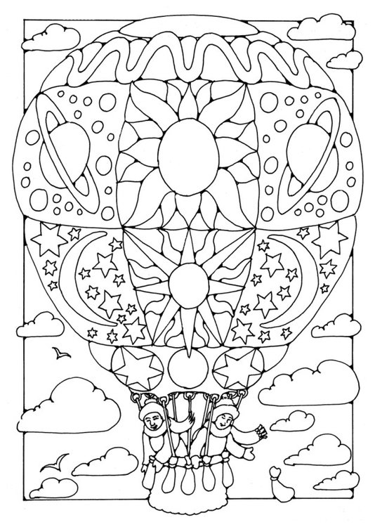 Coloriage montgolfi re img 16349 - Coloriage montgolfiere ...