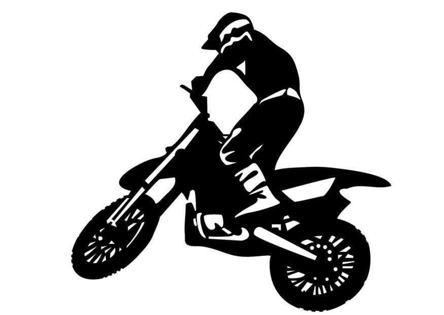 Coloriage Motocross Coloriages Gratuits A Imprimer
