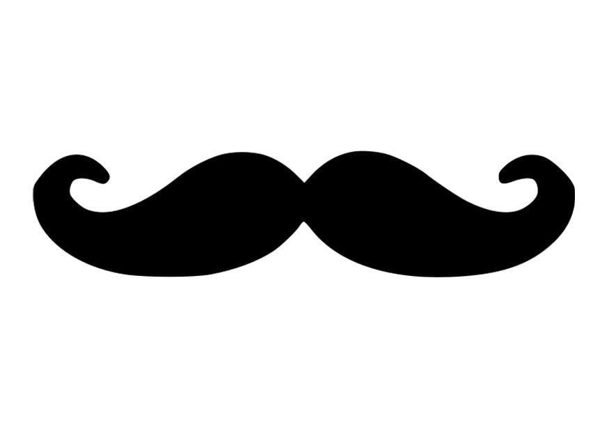 Coloriage moustache img 27664 - Dessin de moustache ...