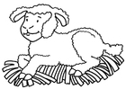 Coloriages Mouton