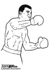 Coloriages Muhammad Ali