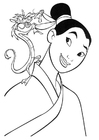 Coloriages Mulan
