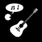 Coloriage musique - chant et instruments