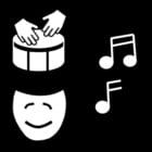 Coloriage musique - expression